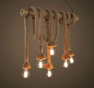 Retro-cabezas-dobles-cuerda-luces-pendientes-desván-lámpara-de-época-restaurante-dormitorio-comedor-lámpara-colgante-tejido